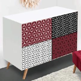 Sticker d coratif pour meuble objet copy way - Stickers pour meuble ...