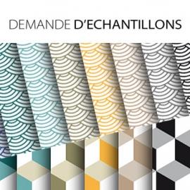 Echantillon sticker décoratif meuble 10cmx10cm